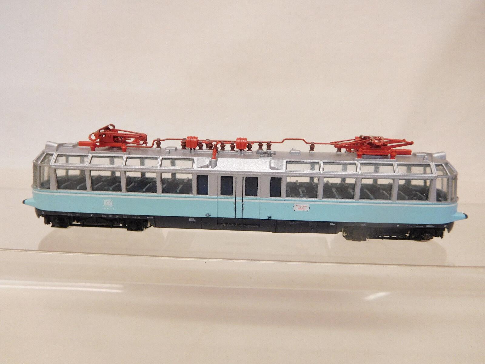 Mes-56549 Fleischuomon piccolo Spur N E-Lok  TRENO VETRO  DB 491 001-4