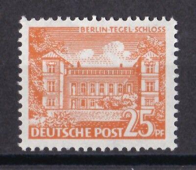 Nett Berlin 1949 Postfrisch Minr Deutschland Deutschland Ab 1945 50 Freimarken Tegeler Schloss Exquisite Traditionelle Stickkunst