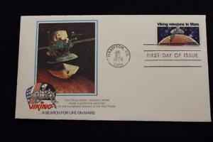Space-Cover-1978-1ST-Giorno-Problema-Onore-il-Viking-Missioni-a-Mars-4991