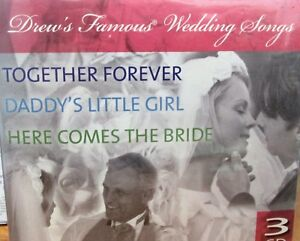 Details about Drew's Famous Wedding Music 3 CDS NEW! Classical,Top Wedding  songs Hits 43 Songs