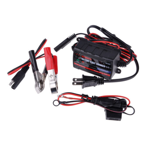 12V 5A Automatic Smart Car Battery Charger Maintainer for Lead Acid AGM//GEL//WET
