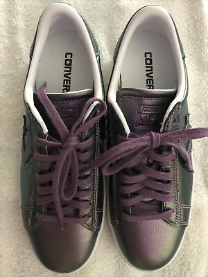Converse Pro Leather LP OX Viola Fantasy Shoe Sneaker Size 7 | eBay