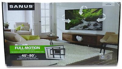 """80/"""" Flat-Panel TVs Sanus Super Slim Full-Motion Mount for 40/"""""""