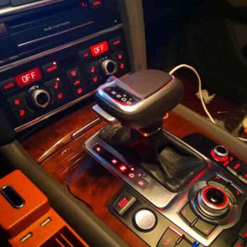 DIY Best Gear Shift Knob Single Slot for Audi A6 A5 A4 A7 Q7 S5 S6 S7