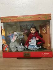 Mattel Barbie Kelly Doll Little Red Riding Hood Wolf Collector Ed 2001 52899