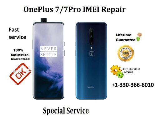 Remote OnePlus 7//7 Pro IMEI Repair Fast