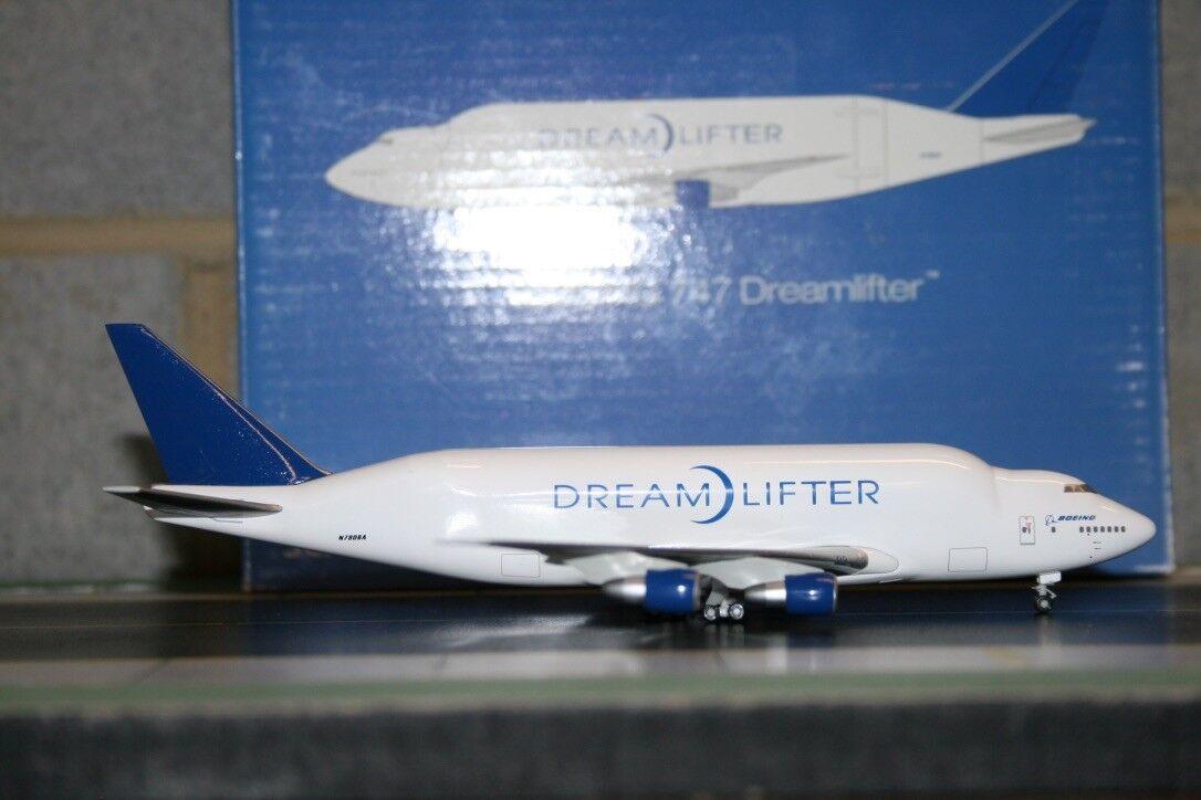 Hogan 2018 Boeing Company 747-400LCF Dreamlifter N780BA (HG8515) modelo de avión