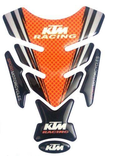 FOR KTM DUKE/RC 200/390 CUSTOMIZE RACING BIKE TANK PAD...
