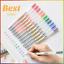 Gel-Ink-Pen-Set-0-5-X-12-Colour-Set-Pens-Office-School-Writing-Pens-Set-Muji miniature 1