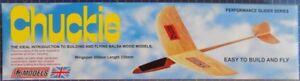 Chuckie: DPR Performance Glider Balsa Wood Model Plane Kit: Wingspan 300mm