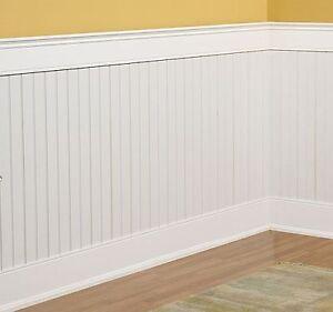 beadboard wainscoting kit 4x8 feet ebay. Black Bedroom Furniture Sets. Home Design Ideas