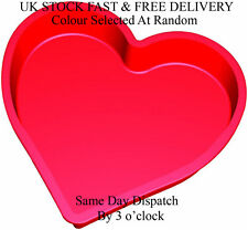 Vincenza Silicone Bakeware 26 x 26 x 6.5 cm Silicone Heart Shaped Cake Pan Mould