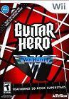 Guitar Hero: Van Halen - Nintendo wii game