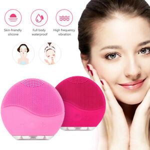 Electric-Facial-Silicone-Cleansing-Brush-Waterproof-Facial-Skin-Massage-Cleanser