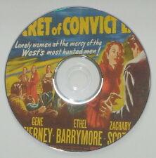 WESTERN 18: THE SECRET OF CONVICT LAKE 1951 Gordon, Ford, Tierney, Zachary Scott