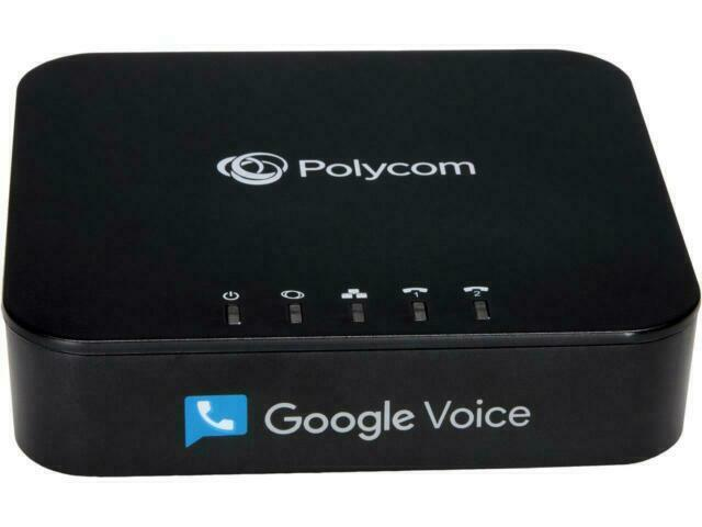 Polycom 220049522001 2 Port VoIP Phone Adapter with Google V