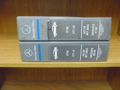 2003 2005 Mercedes Benz E320 E500 E55 Amg Electrical Wiring Diagram Manual 2004 Ebay