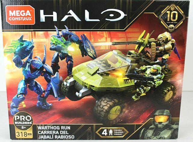 Mega Construx Halo Warthog Run Brand New Set Halo 10 year anniversary Free Ship