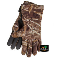 Tanglefree Mid Length Neoprene Decoy Gloves Fleece Lined Osfm Max-5 Camo