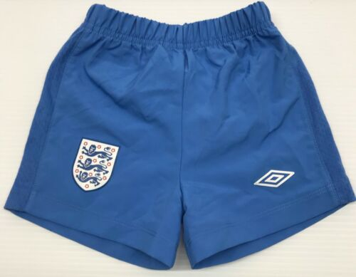 England International soccer team short blue color for toddler by Umbro