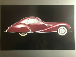 1937 Talbot Lago T150 Ss Coupe Picture Print Poster Rare Awesome L K Ebay