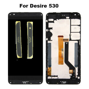 For-HTC-Desire-530-Replacement-LCD-Display-Touch-Screen-Digitizer-Frame-Black-uk