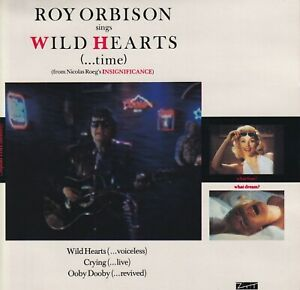 ROY-ORBISON-45-EP-WILD-HEARTS-WITH-RARE-EXTRA-PERFORMANCE-OF-CRYING-LIVE-VG