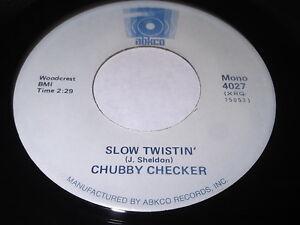Chubby-Checker-Slow-Twistin-039-Birdland-45