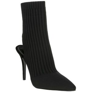 Nero On Textile Womens Pull Kendall Adrian Kylie Shoes New Stivaletti zZtwq