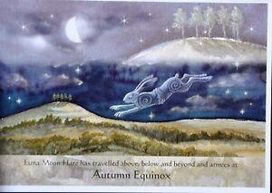 Wendy-Andrew-Pagan-Luna-Hare-card-wicca-wheel-of-year-autumn-equinox-birthday