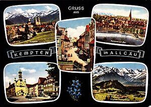 Gruss-aus-Kempten-im-Allgaeu-Ansichtskarte-ungelaufen