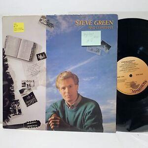 Steve-Green-Find-Us-Faithful-Sparrow-1164-Gospel-LP-VG-VG