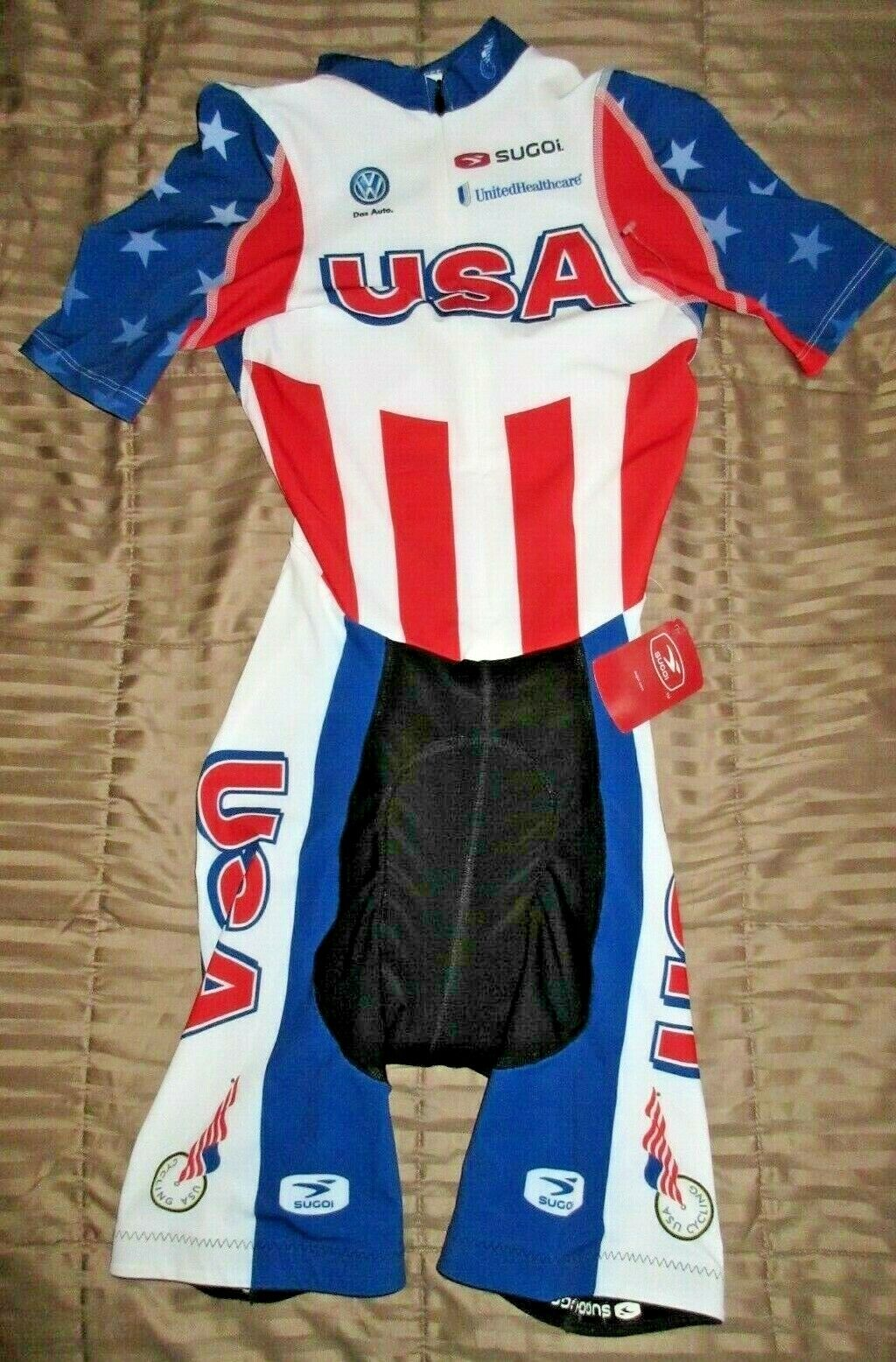 Sugol USA Adult  Cycling Skin Suit RS Proskinsuit Short New  will make you satisfied