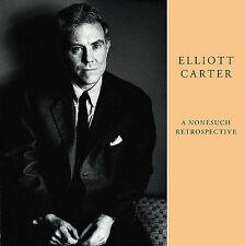 Elliott Carter: A Nonesuch Retrospective [Box] by Various Artists (CD,...