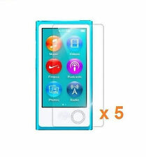 5 x Clear (Invisible) Screen Protector For Apple iPod Nano 7th Generation 7G