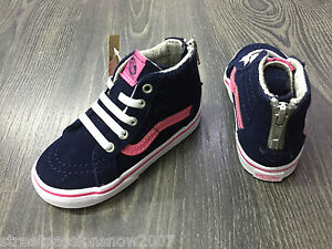outlet sale bottom price value for money Details about Vans Girl's Shoes Sk8 MTE Navy Pink Skate Waterproof