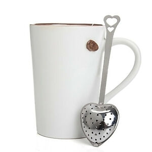 Heart-Shape-Stainless-Tea-Steel-Infuser-Strainer-Spoon-Steeper-Handle-Shower-HOT