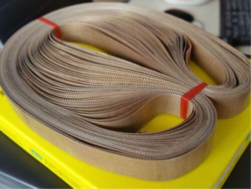 50pcs//lot 770mm x 15mm teflon belt for FR-900 FR770 Continuous Band Sealer
