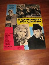 SOGGETTONE 1965,IL COMPAGNO DON CAMILLO,COMENCINI,FERNANDEL,GINO CERVI,GUARESCHI