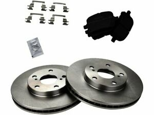 Front Brake Rotors Ceramic Pad 1998 1999 2000 2001 2002 2003 2004 TOYOTA AVALON