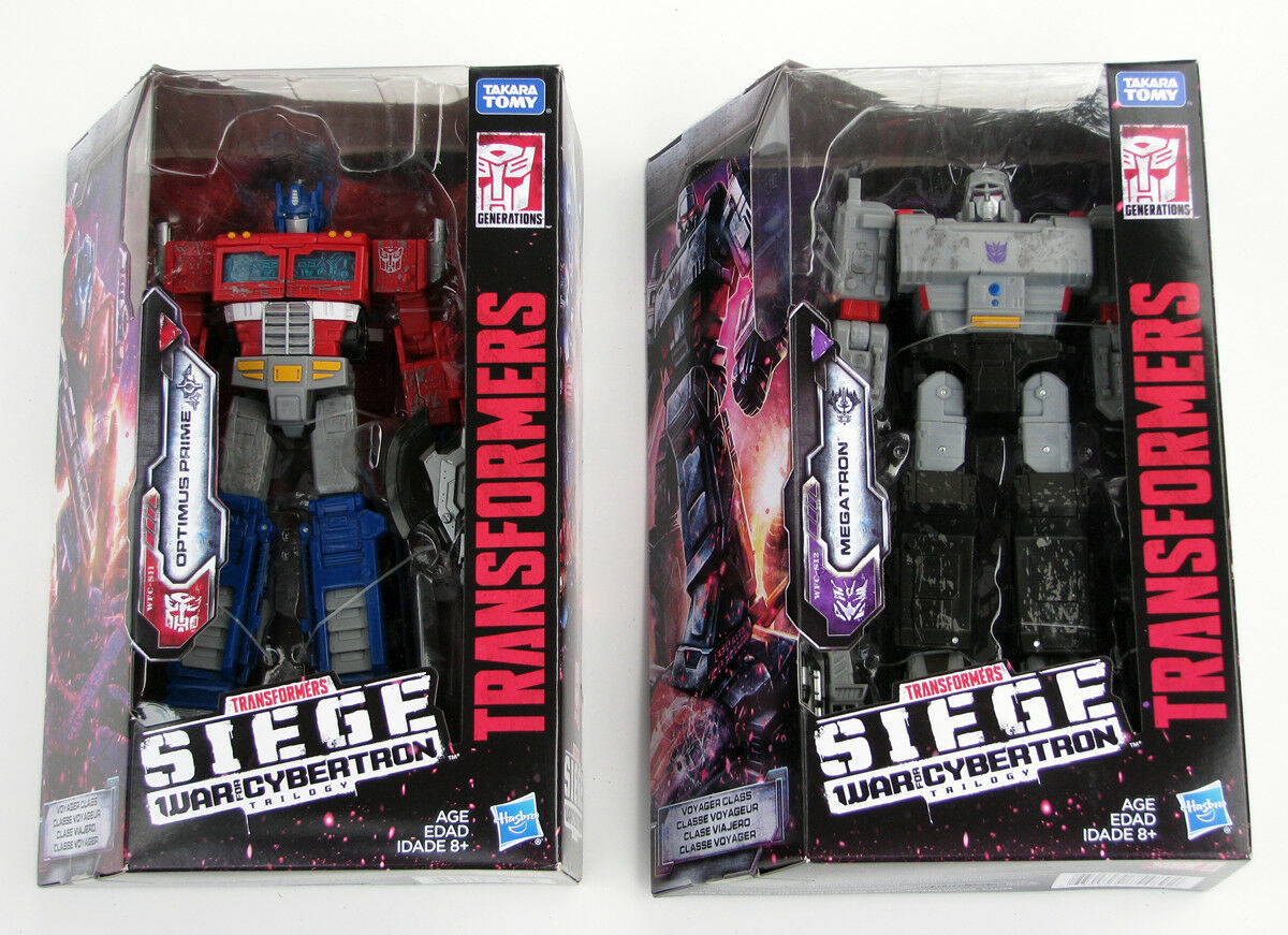 Megatron Optimus Prime Transformers Siege cifras  War for Cybertron Voyager  Offriamo vari marchi famosi