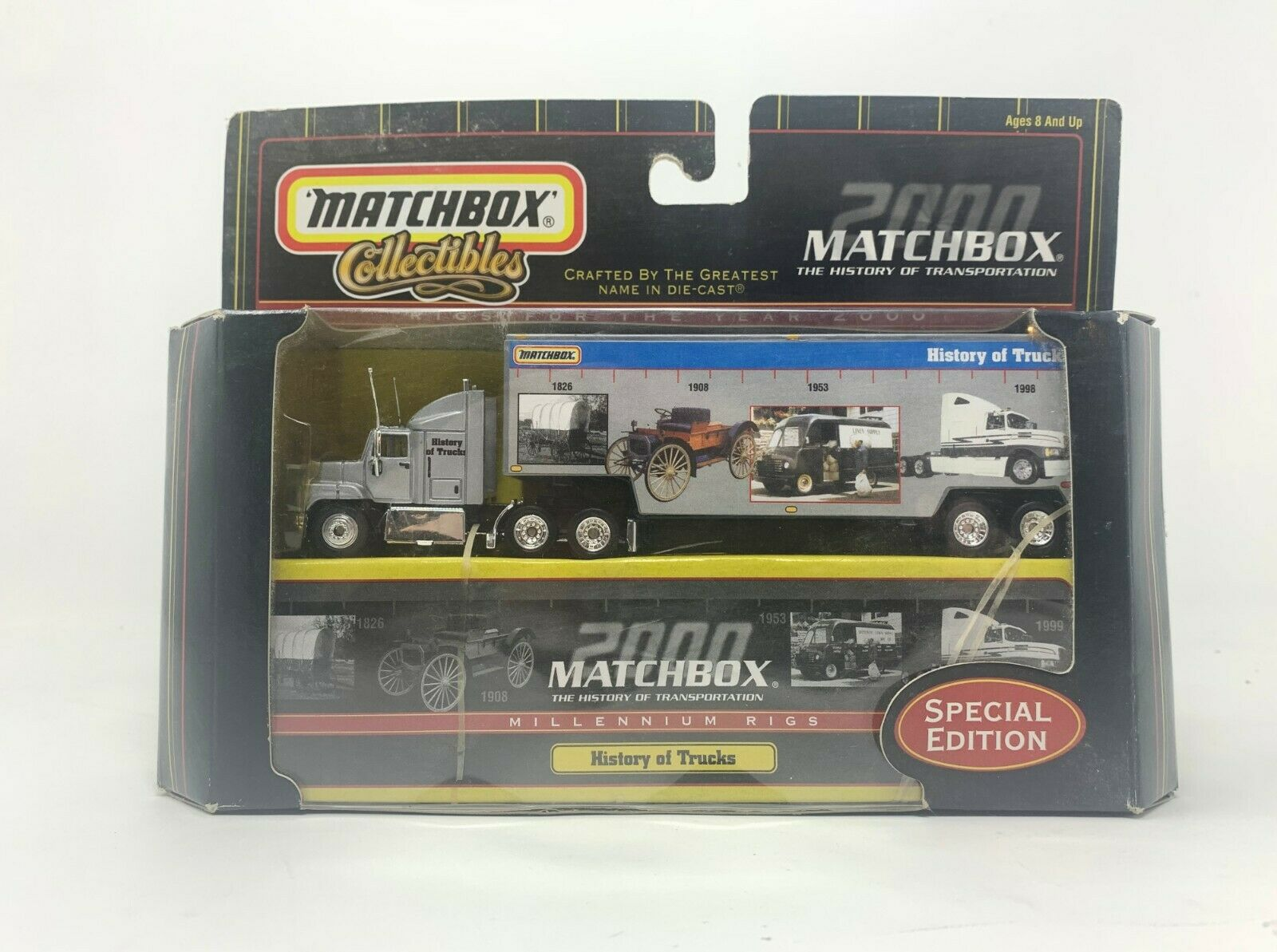 Matchbox Collectibles 50th Anniversary 2001 Tan Military TRANSPORTER for sale online