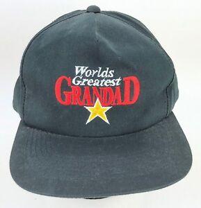 a83a3200888 Vtg 90s YoungAn Hat Co. Ltd. Worlds Greatest Grandad Hat Grandpa ...