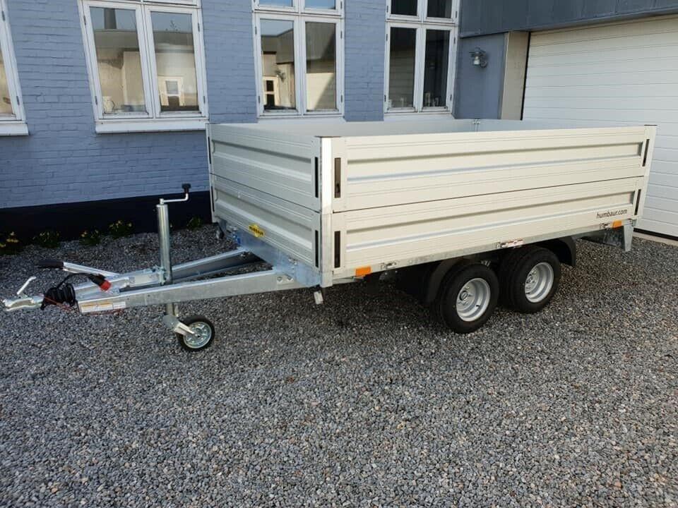 Boogietrailer, Humbaur HN202616, lastevne (kg): 1600