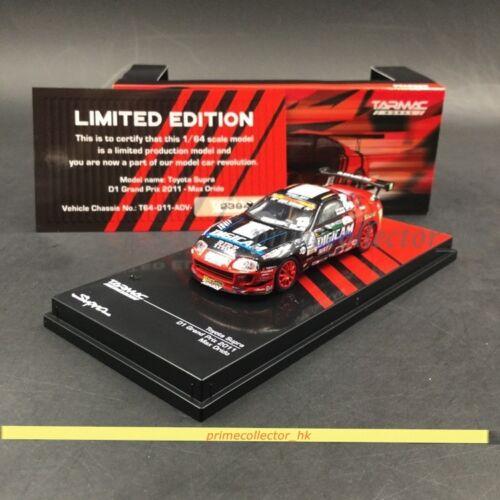 Tarmac works 1/64 Toyota Supra D1 Grand Prix Max Orido T64-011-ADV