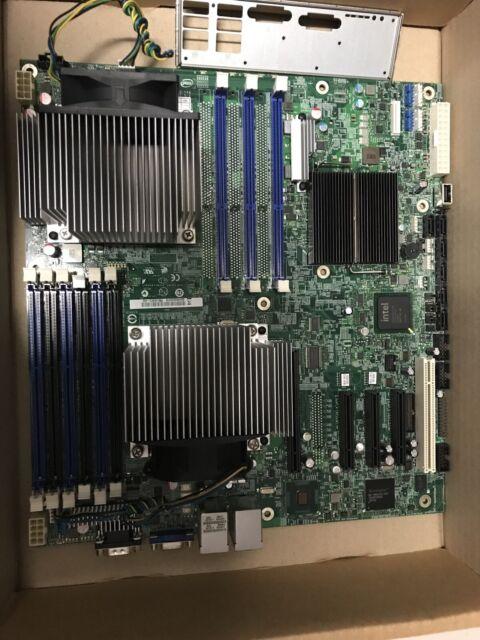 MOTHERBOARD INTEL S5520HC DUAL LGA1366 DDR3 E26045-455 PCIe