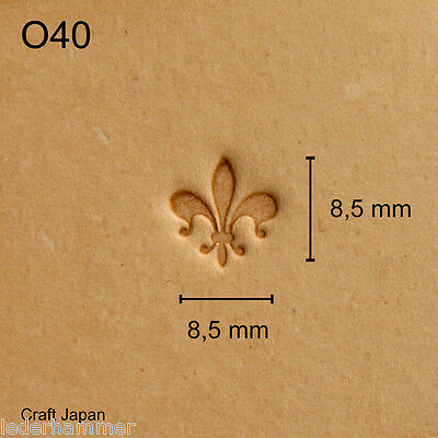 Leather Stamp E377 Craft Japan Punzierstempel Lederstempel Punziereisen