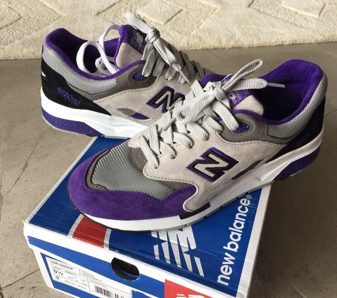 Limited New Balance 1600 CM1600CP 9.5 990 Purple Grey White 991 993 992