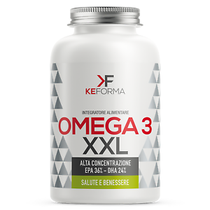 Keforma Omega 3 XXL 150 perle Acidi Grassi essenziali Omega 3 (EPA + DHA) IFOS