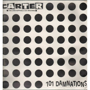 Carter The Unstoppable Sex Machine Lp 101 Damnations / EMI Chrysalis Sigillato